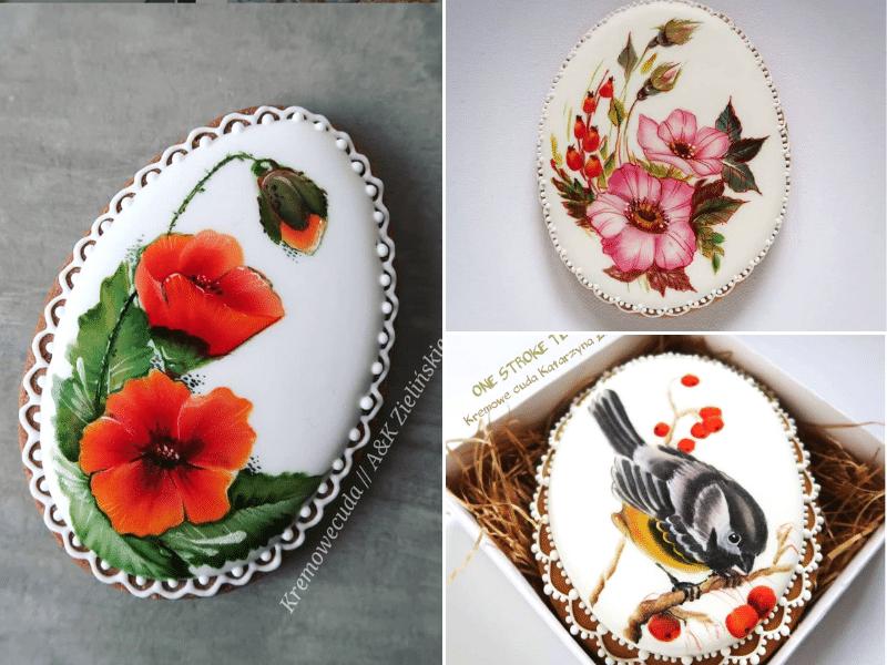 Techniki malarskie w dekoracjach cukierniczych