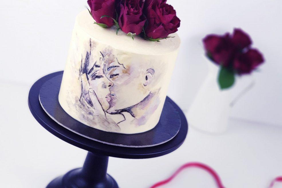 Cake_Room-Dominika_Migoda_Tort_malowany_Zakochani