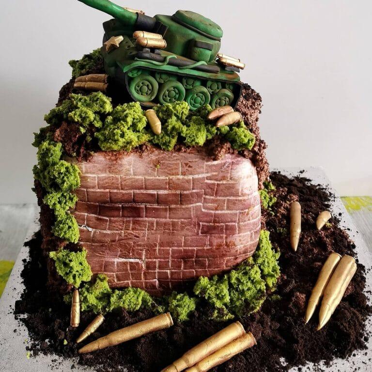 Tort z czołgiem