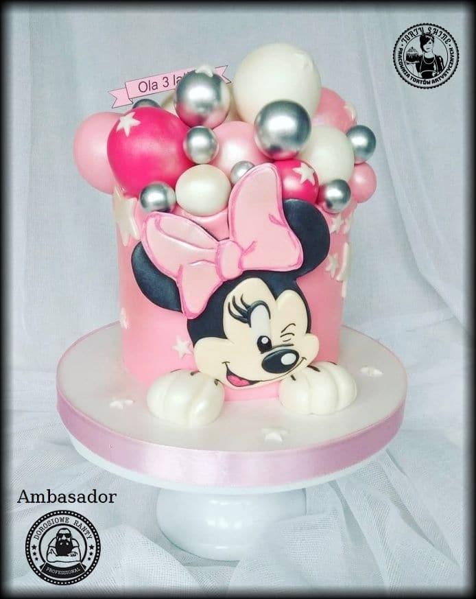 Minnie i balony