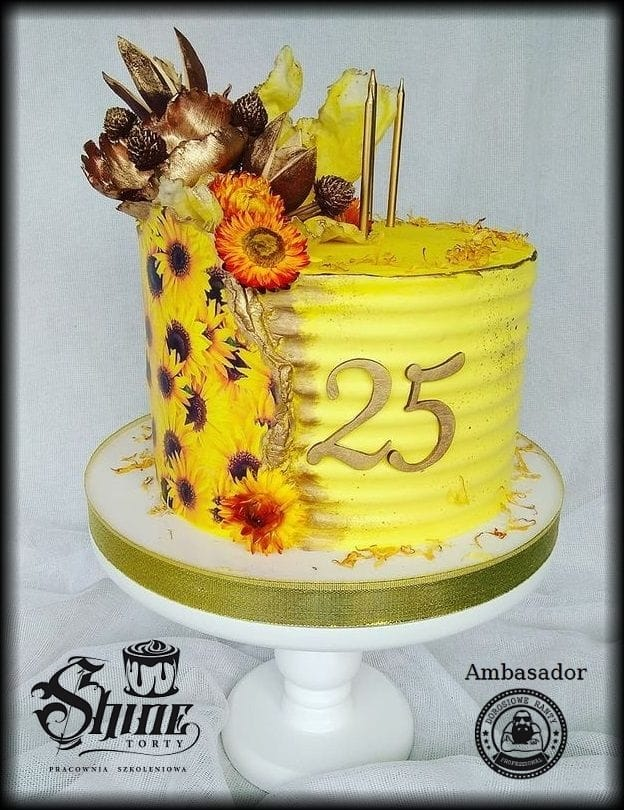 Żółto i kwiatowo