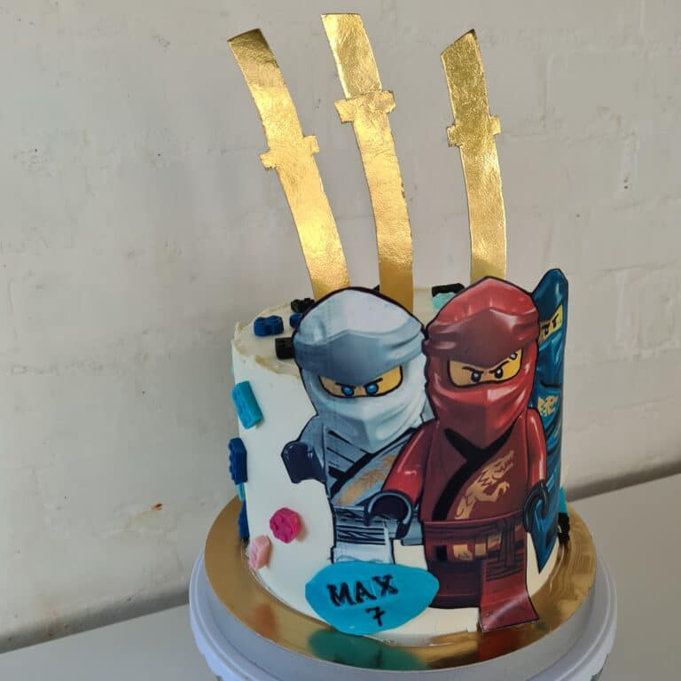 Tort urodzinowy- lego ninjago