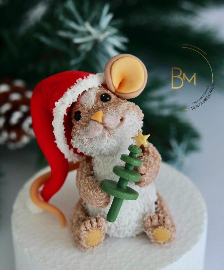Świąteczna myszka