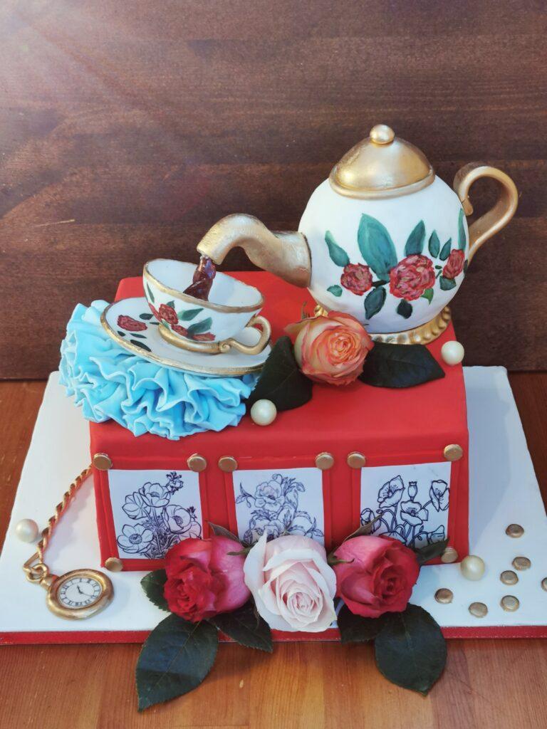 Miłośnik porcelany i kawy
