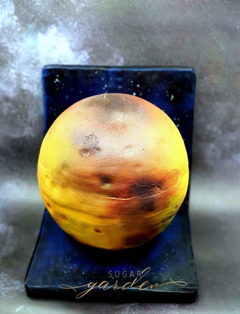 Tort 3D Księżyc