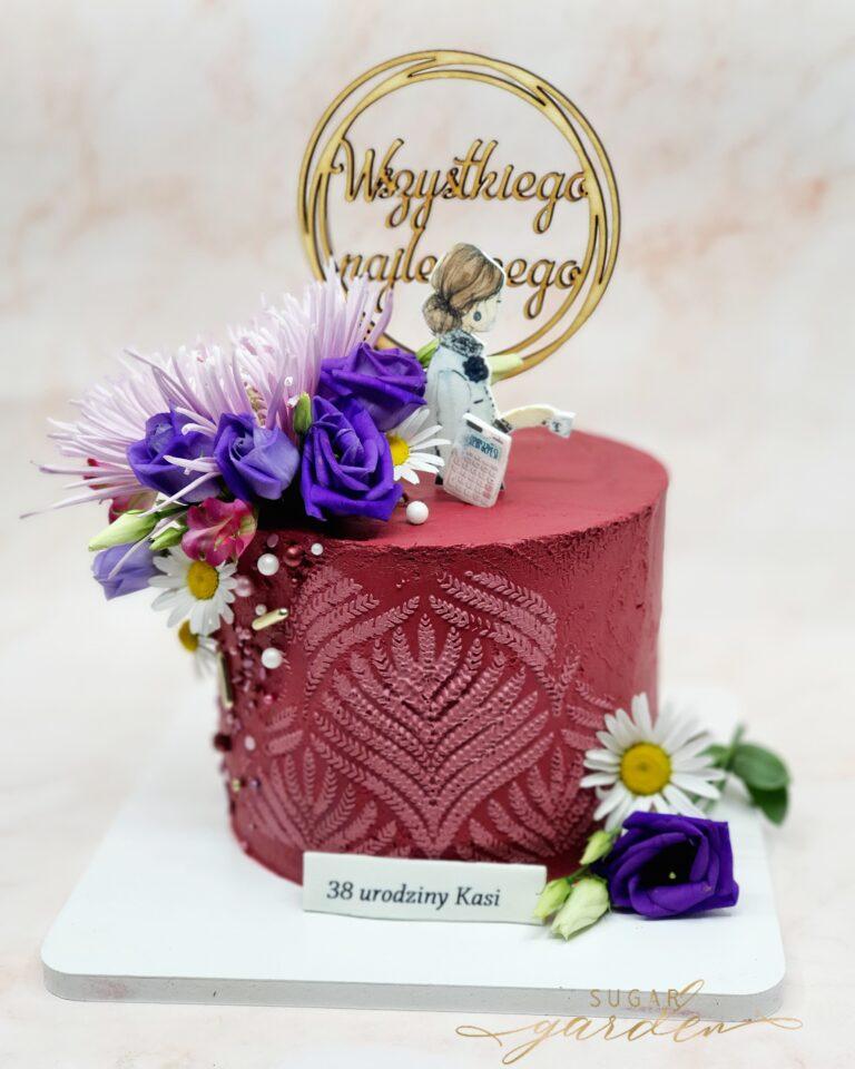 Tort urodzinowy dla księgowej