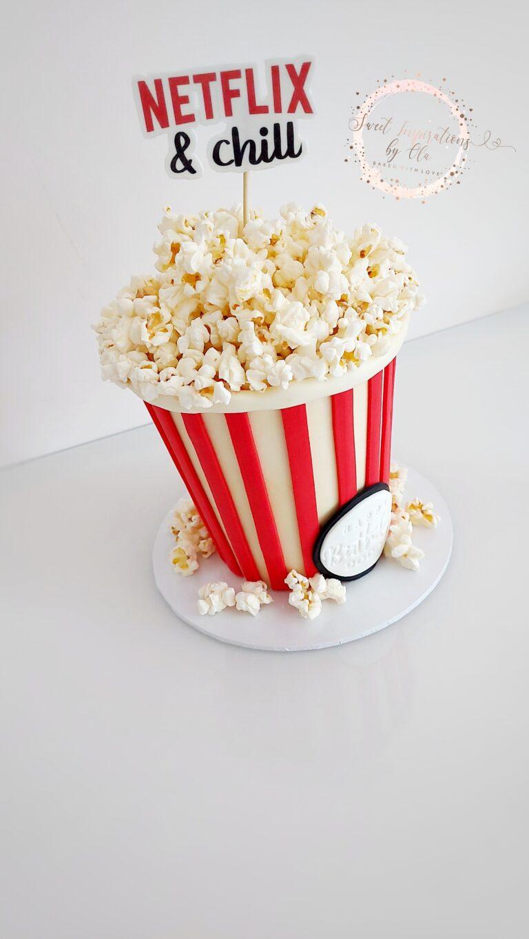 Kubełek popcornu